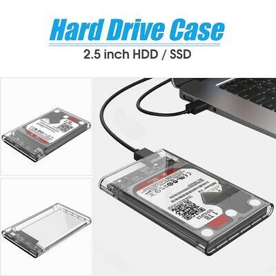 Sponsored Orico Usb3 0 Type C 2 5in Transparent Hard Drive External Enclosure For Hdd In 2020 With Images Driving Hard Drive Hard Disk Drive