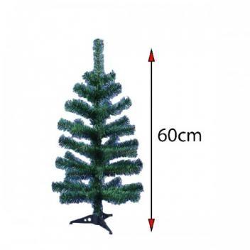 Arvore De Natal 60cm Com 50 Galhos Verde Riomaster Arvore De
