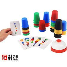 Fast-Paced Speed Cups Game!