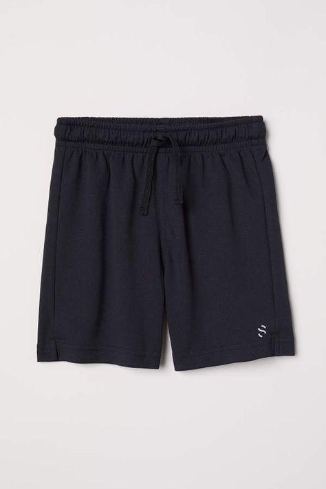 H M H M Sports Shorts Black Kids Co Hinh ảnh đui