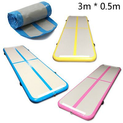 Inflatable Gym Mat For Gym Training Inflatable Gymnastic Mats For Sale Inflatable Tumble Mat 4m X1 8m Gym Mats Gym Training Gymnastics Training