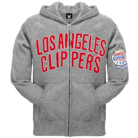 a550c574fa1 Amazon.com: Nba Men's Los Angeles Clippers - 1984 Logo Zip Hoodie: Clothing