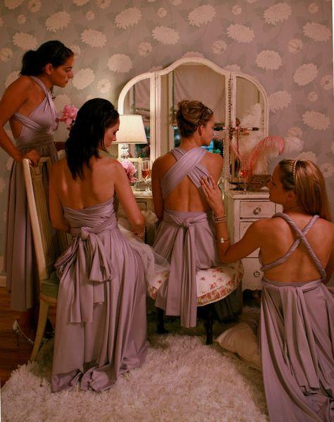lovely bridesmaid dresses:)