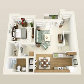 Floor Plans Pricing Firenze Apartments Apartment Interior 1 Bedroom Apartment Apartment Interior Design