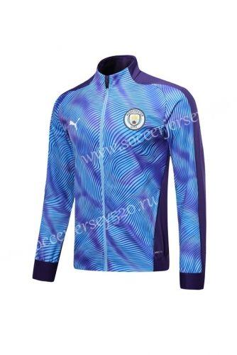 Player Version 2019 2020 Manchester City Purple Thailand Soccer Jacket Lh