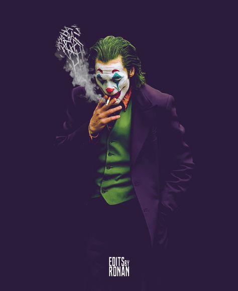 When a Joker starts smoking they are going to put you out....RUN!!!