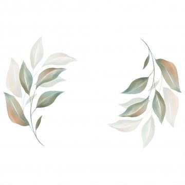 تركيبة مائية جميلة تركيبة لشعار العلامة التجارية أو بطاقة دعوة زفاف زهور رسالة دعوة يدعو Png وملف Psd للتحميل مجانا Watercolor Leaves Hand Painted Frames Watercolor Flowers Wedding Invitation