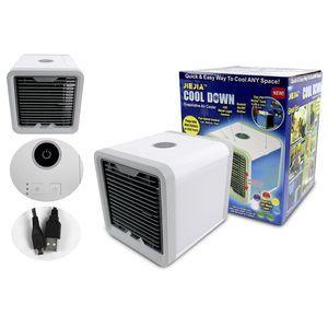 Climatizador Umidificador Portatil Purificador Ambiente Usb Em