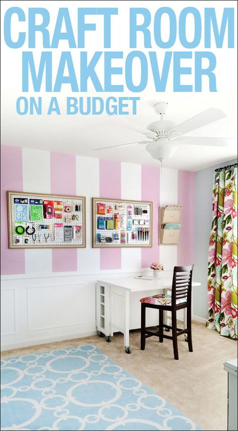 New craft room makeover on a budget!