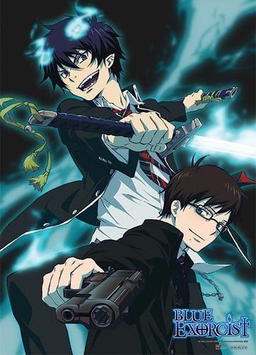 Rin& Yukio Anime WallScroll