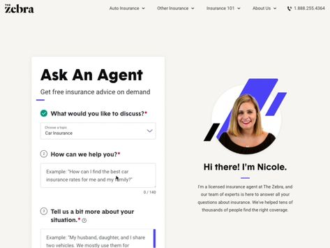 New Designs For Ask An Agent A Help Center For Getting Expert Advice On Insurance Question Best Car Insurance Rates This Or That Questions Car Insurance Rates