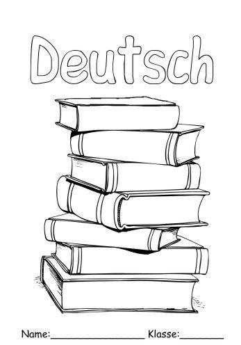 Google Ergebnis Fur Https Www Kostenlose Ausmalbilder De Deckblatt Deutsch 1 Deutsch 15 Jpg In 2020 Deckblatt Deutsch Decken Deckblatt
