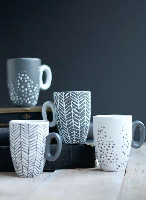 Photo of DIY-Projekte: Entzückende Tassen