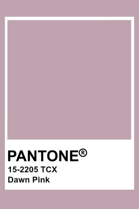 Pantone Dawn Pink
