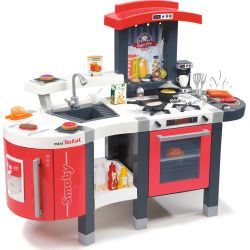 Little Chef Berlin Modern Play Kitchen Blue By Teamson Kids Kids Toys Maisonette Play Kitchen Play Kitchen Sets Kids Kitchen