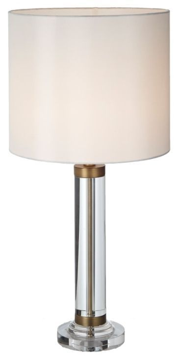 Rv Astley Dale Table Lamp Crystal And Antique Brass Table Lamp