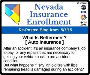 What Does The Term Betterment Mean In Auto Insurance Car Insurance Company Job Insurance