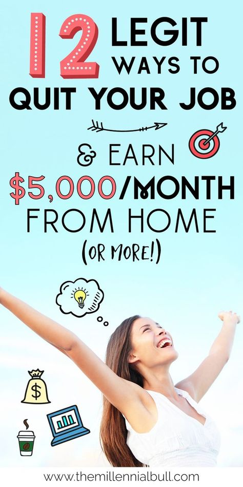 How To Earn Money From Home: 12 Real Work From Home Jobs