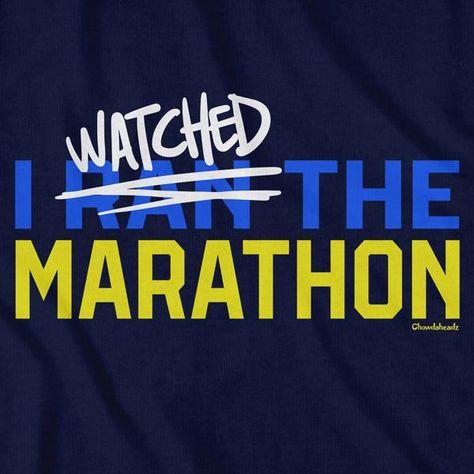 I Watched The Marathon T-Shirt