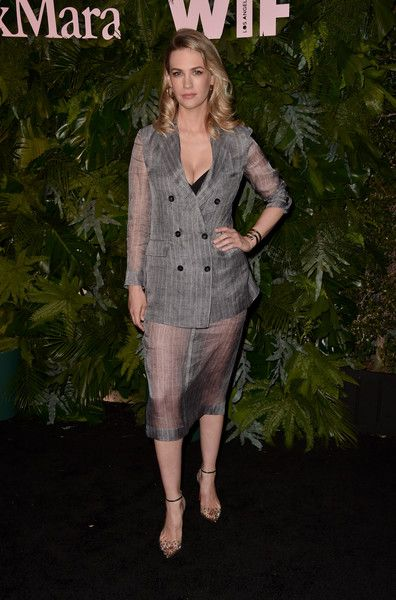 January Jones attends Max Mara: WIF Face Of The Future at Chateau Marmont.