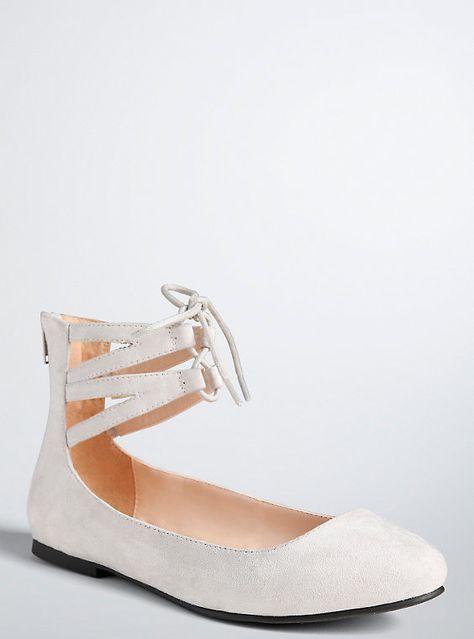3824991c63c Lace Up Flat Sandals (Wide Width)