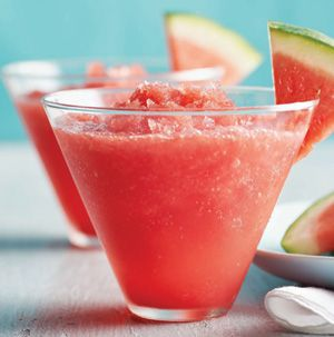 How does a watermelon slushy sound? Pretty good, right? Frozen Watermelon Refresher is just what you need to cool down after a long day of picnicking.