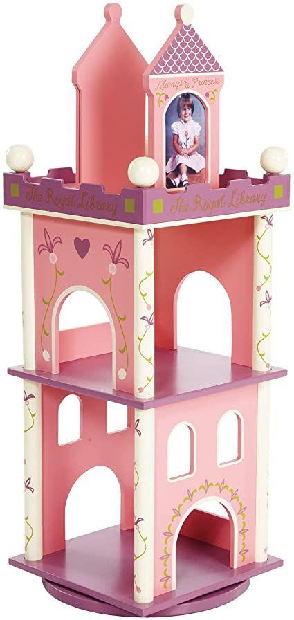 Wildkin Princess Revolving Bookcase Revolving Bookcase Bookshelves Kids Kids Playroom Furniture