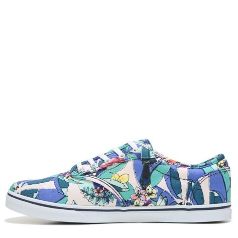 be9699af73 Vans Women s Atwood Low Skate Shoes (Pineapple Tropical)