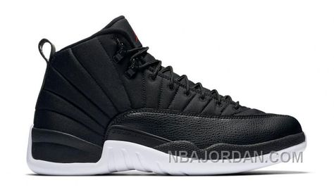 timeless design 25010 12804 AUTHENTIC AIR JORDAN 12 RETRO NYLON 130690-004 BLACK GYM RED-WHITE (MEN  WOMEN) FREE SHIPPING Only  189.00 , Free Shipping!