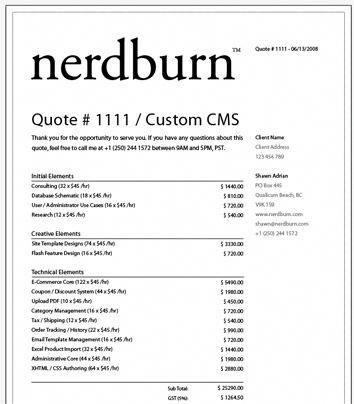 Sample Web Design Contract Web Design Contract Web Design