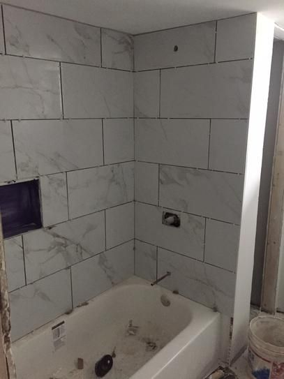 User Submitted Photo Small Bathroom Remodel Minimalist Small Bathrooms Bathrooms Remodel