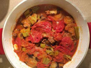 Grune Bohnen Mit Fleisch Etli Taze Fasulye Rezepte Moussaka Und Kochrezepte