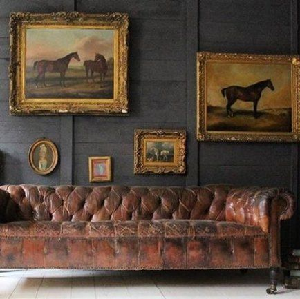Fonkelnieuw Living Room Paint Color Ideas Leather Couches Chesterfield 44+ NS-29