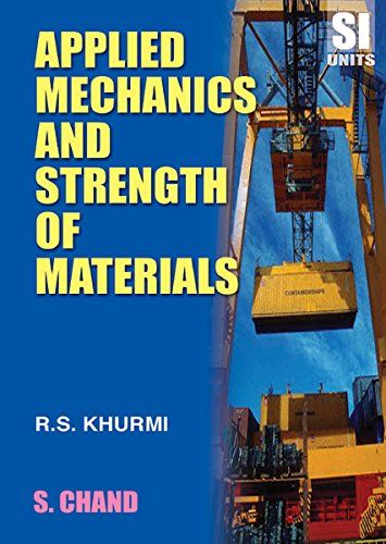 Book PDF Applied Mechanics and Strength of Materials by R S