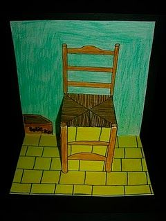 Pop-up Van Gogh chair