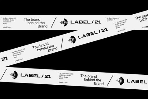 Estúdio Kuumba Creates Visual Identity Project for Label 21 - World Brand Design Society