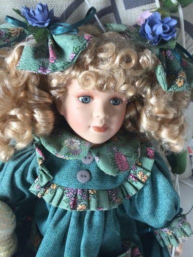 Kolekcjonerska Lalka Porcelanowa Sygnowana 7393676035 Oficjalne Archiwum Allegro Baby Face