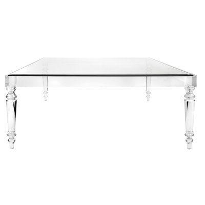 Nakasa Devaro Acrylic And Glass Coffee Table Acrylic Coffee Table Glass Coffee Table Square Glass Coffee Table