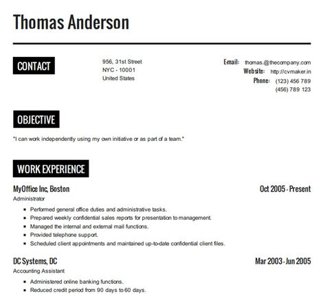 10 Online Tools To Create Impressive Resumes Tools, Resume and - making a perfect resume