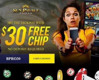 Sun Palace Casino 30 Free Spins No Deposit Bonus Doubledown Casino Free Slots Free Casino Slot Games Casino