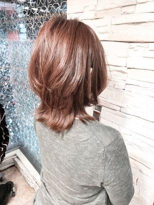 2020年冬 ミディアムの髪型 ヘアアレンジ 人気順 26ページ目