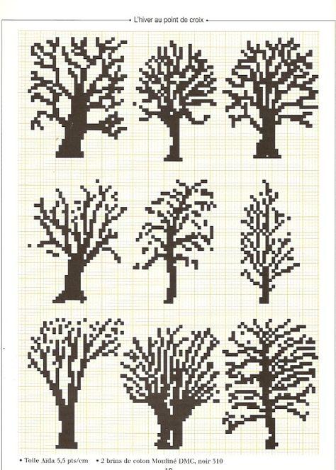 Knitting Charts Tree Fair Isles 37+ Ideas For 2019