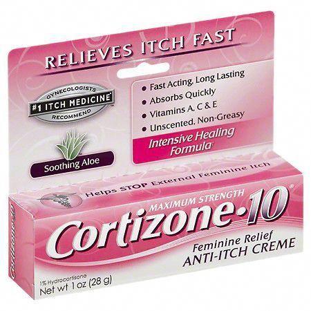 Cortizone 10 Maximum Strength Feminine Itch 1 Oz Anti