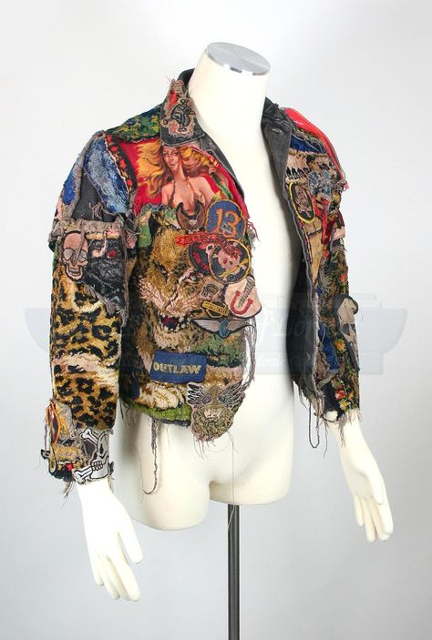 Alas, the mystical and gorgeously elaborated jacket worn by Alex Winter in his performance as Marko in The Lost Boys has been sold. No idea how much it cost, but it can't have been enough.