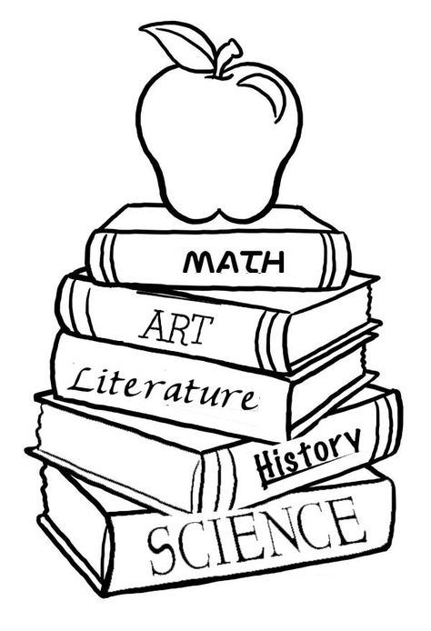 Free Coloring Pages Books Coloring Pages