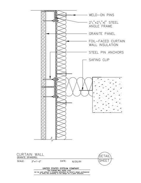 Images Curtain Wall Detail Curtain Wall Wall Insulation