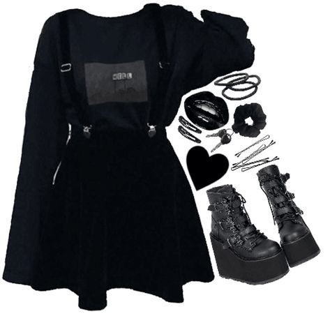 emo soft girl Outfit moda emo - Reality Worlds Tactical Gear Dark Art Relationship Goals Cute Emo Outfits, Punk Outfits, Teen Fashion Outfits, Kpop Outfits, Korean Outfits, Grunge Outfits, Alternative Outfits, Alternative Mode, Emo Clothes For Girls