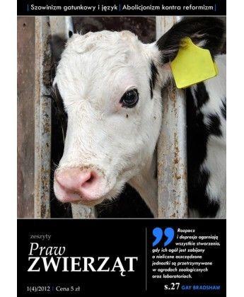Zeszyt Praw Zwierzat Nr 4 Vegan Books Animals Cow