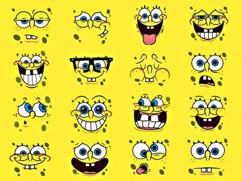 Face Spongebob Squarepants Anime HD Wallpaper Picture   Wallsev.com - Download Free HD Wallpapers