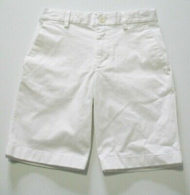 Ralph Lauren Boys Chino Shorts White Sz 14 NWT